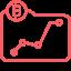Crypto price trackers icon