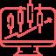 Crypto trading tools icon